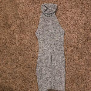 Asos grey jersey dress